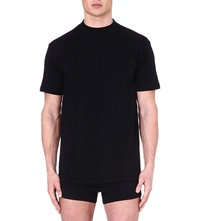 Hom Cotton T Shirt Black