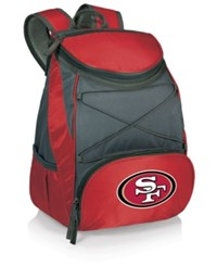 Picnic Time San Francisco 49Ers Ptx Backpack Cooler Red Charcoal
