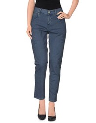 Two Women In The World Denim Pants Slate Blue