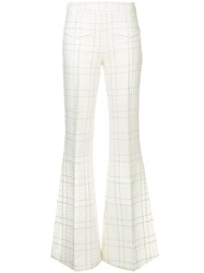 Camilla And Marc Dumas Flared Trousers White