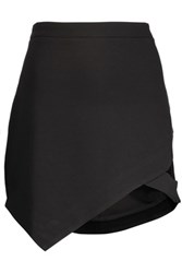 W118 By Walter Baker Jack Cutout Stretch Jersey Mini Skirt Black