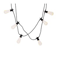 Garden Trading Festoon Squirrel String Lights Black