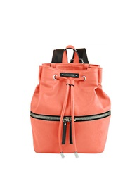 Kenneth Cole Reaction Bondi Girl Faux Leather Backpack Coral