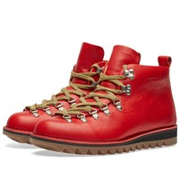 Fracap M120 Ripple Sole Scarponcino Boot Red
