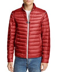 Herno Convertible 2 In 1 Down Jacket Red