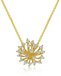Hueb Luminus 18K Gold Diamond Pendant Necklace