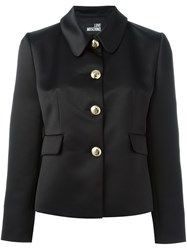 Love Moschino Classic Fitted Jacket Black