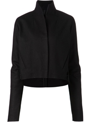 Barbara I Gongini Tailored Coat Black