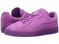 Puma Suede Emboss Iced Fluo Purple Cactus Flower Men's Shoes