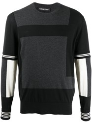 Neil Barrett Panelled Jumper 60