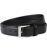 Canali Leather Belt Black