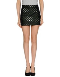 Au Jour Le Jour Mini Skirts Black