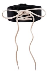 Puma Women's Fenty By Rihanna Lace Up Choker Puma Black Vanilla Ice