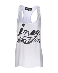 5Preview Tank Tops White