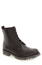 Calvin Klein Jeans Men's 'Nex' Cap Toe Boot Mocha Leather
