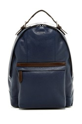 Cole Haan Pebble Leather Backpack Blue