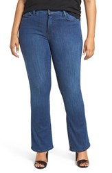 Nydj Plus Size Women's Billie Stretch Mini Bootcut Jeans