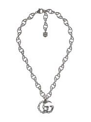 Gucci Double G Necklace Metallic
