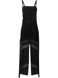 Givenchy Semi Sheer Jumpsuit Black