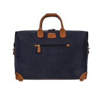 Bric's Life Clipper Holdall Blue Tan Small