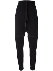 Barbara I Gongini Drawstring Track Pants Black