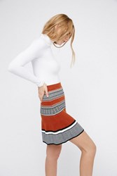 Free People Womens Ring My Bell Mini Skirt