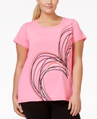 Ideology Plus Size Active Graphic Tee Only At Macy's