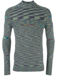 Missoni Turtleneck Pullover Green