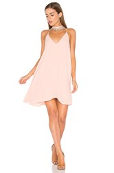 Three Eighty Two Tanner Slip Dress Pink