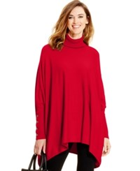 Alfani Turtleneck Poncho Sweater Only At Macy's