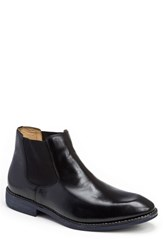 Sandro Moscoloni Men's Marcus Chelsea Boot Black Leather