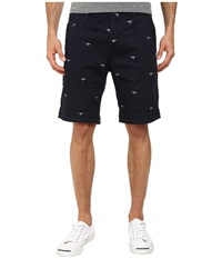 G Star Bronson Aop 1 2 Short Mazarine Blue Men's Shorts