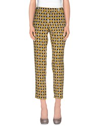 Fendi Trousers Casual Trousers Women Yellow