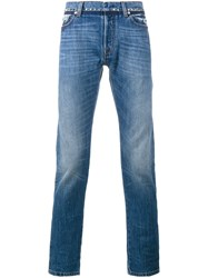 Valentino Slim Fit Jeans Blue