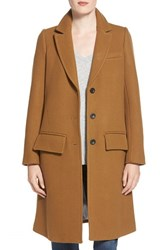 Women's Madewell Single Breasted Trapeze Car Coat