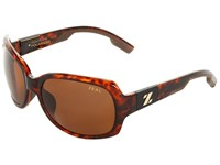 Zeal Optics Penny Lane Polarized Demi Tortoise W Copper Polarized Lens Sport Sunglasses Multi