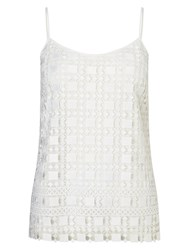 Phase Eight Alba Lace Cami Ivory