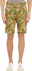 Engineered Garments Floral Ghurka Shorts Nude Size 28