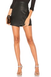 David Lerner Wrap Skirt Black