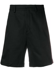 Low Brand Side Stripe Chino Shorts Black