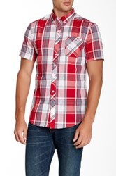 Ecko Unlimited Plaid Regular Fit Shirt Red