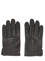 The Kooples Nappa Leather Gloves