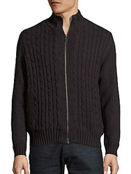 Boston Traders Knitted Long Sleeve Jacket Charcoal