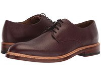 Bostonian Somerville Low Burgundy Tumbled Leather Shoes