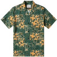 Portuguese Flannel Harlam Vacation Shirt Green