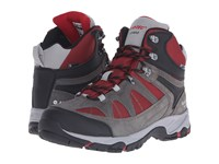 Hi Tec Altitude Lite I Shield Waterproof Charcoal Cool Grey Red Men's Hiking Boots Brown