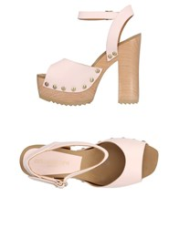 Aldo Castagna Sandals Light Pink