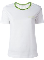 Paul By Paul Smith Contrast Collar T Shirt White