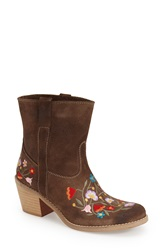 Andre Assous Andre Assous 'Jace' Bootie Women Taupe Leather