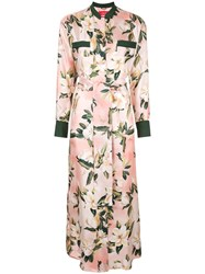 F.R.S For Restless Sleepers Floral Shirt Dress Pink